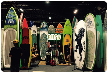 Collection of GUSU Paddle Boards